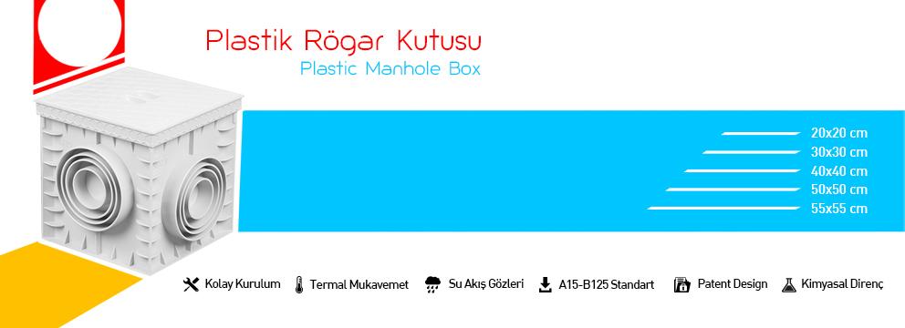 Plastik rögar kutusu