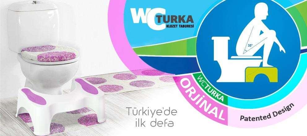 Klozet taburesi wc turka orjinal ürün burada!