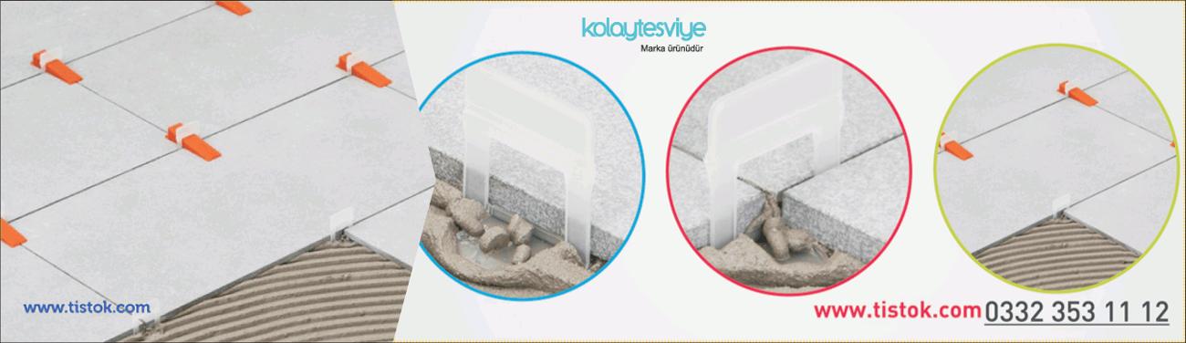 Seramik fayans tesviye klipsi plastiği akıllı derz artısı sistemi türkiye